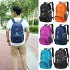 35l Outdoor Backpack Folding Sports Hiking Camping Luggage Rucksack Bag Lot Uk