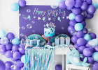 Narwhal Party Decorations, Narwhal Party Plates, Cups, Under The Sea Party, usado segunda mano  Embacar hacia Spain