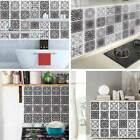 Self Adhesive 3d Tile Wall Decal Sticker Diy Kitchen Bathroom Home Office Decor