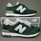New Balance 1400 Made in USA Running Shoes Mens Size Suede Mountain Green Gray