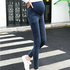 Women Maternity Pregnancy Skinny Trousers Jeans Over The Pants Elastic Stretch