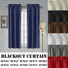 Kyпить 2 Panels Blackout Curtain Room Darkening Curtains Rod Pocket Thermal Insulated на еВаy.соm