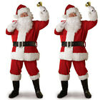 Santa Claus Costume Men Adult Suit Christmas Party Outfit Fancy Xmas Dress USA