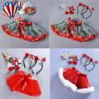 Baby Girls Kids Christmas Tutu Ballet Skirts Party Skirt+Hair Hoop