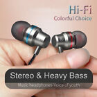 Wired earbuds noise cancelling stereo earphones heavy bass sound sport headse DR