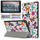 """Case for Amazon Fire HD 10 Tablet 10.1"""" 2019 9th Gen Smart Cover Auto Sleep/Wake"""