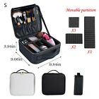 Professional Rolling Makeup Trolley Case Aluminum Nail Cosmetic Beauty Train Box