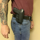 """Holster OWB Belt Paddle Waistband Sig Sauer P320 RX Compact Carry 3.9"""" 45 ACP"""