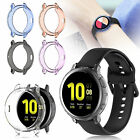 TPU Frame Cover Case Screen Protector For Samsung Galaxy Watch Active 2 40/44 mm