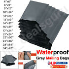 Strong Plastic All Sizes Grey Mailing Bags Parcel Postal Post Mail Postage Seal