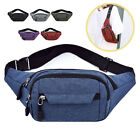 Uk Canvas Waist Fanny Pack Cross Shoulder Bag Hip Hop Sack Hipsack
