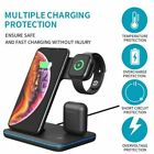 3 In 1 15W Qi Wireless Chargers SIKAI Fast Charging QC 3.0