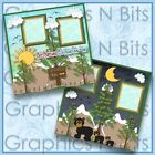LET NATURE BE YOUR TEACHER Printed Premade Scrapbook Pages