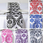 "30 pcs FLOCKING TABLE RUNNERS 12x108"" Wholesale Wedding Party Catering Linens"