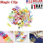 Magic Wonder Clips Plastic for Fabric Quilting Craft Sewing Knitting Crochet US