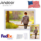 "Andoer 8/10.1/15/17"" 1080P HD TFT LED LCD Digital Photo Frame Album Display MP4"