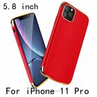 iPhone 11 Pro Max Slim Plating Shockproof Battery Charger Case Power Bank Cover