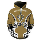 New Orleans Saints Hoodie Small-XXXL 2XL Lightweight Unisex Men Women Football B $26.99 USD on eBay