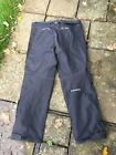 IXON ladies polyester black Motorbike trousers size 36""
