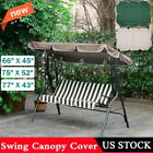 Waterproof Anti-aging Patio Swing Canopy Top Cover Replacement Outdoor 3 Size US