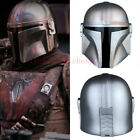 Movie Star Wars The Mandalorian Mask Cosplay Helmets PVC Masks Props Xmas Gift $38.99 USD on eBay