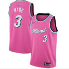 Dwyane Wade #3 Miami Heat Sunset Vice PINK Jersey