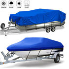 Trailerable Pontoon Runabout Boat Cover Fit V-Hull Fishing Ski Pro-Style Bass