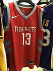James Harden #13 Houston Rockets Jersey (RED) on eBay
