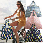 1pc Reusable Tote Storage Handbag Recycle Handy Shopping Bag Casual Foldable