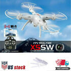 SYMA X5SW 2MP WiFi FPV 2.4Ghz 4CH RC Quadcopter Drones HD Camera Aircraft RTF