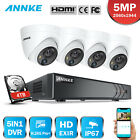 ANNKE H.265+ 8CH DVR Full 5MP PIR Detection Outdoor Security Camera System IP67