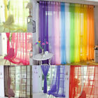 Kyпить Sheer Voile Window Curtains/Drape/Panel/treatment or Scarf Assorted Solid Color на еВаy.соm