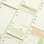 A5/A6 Colorful Paper Month Week Ruled Planner NoteBook Diary Schedule Refills s
