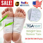 US 100Pcs Detox Foot Pads Patch Detoxify Toxins Adhesive Keeping Fit Health Care