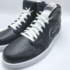 Nike Air Jordan 1 MID SE Men's Basketball Shoes Black/Black-White 852542-016