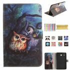 """Pattern Leather Magnetic Case Cover For Samsung Galaxy Tab A6 10.1"""" T580/T585"""