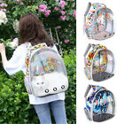 Pet Portable Carrier Cat Backpack Space Capsule Travel Dog Cat Bag Transparent