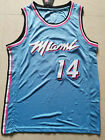 New Season Miami Heat # 14 Tyler Herro Basketball Jersey City Blue City Edition on eBay