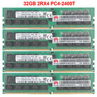 For SK Hynix 32GB 64GB 128GB 2Rx4 PC4-2400T DDR4-19200R ECC Registered Server