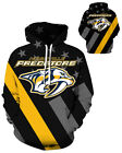 Nashville Predators Hoodie Lightweight Small-XXXL 2XL Unisex Men Women Hockey $26.99 USD on eBay