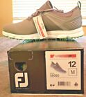 NEW FootJoy Men SuperLites XP Golf Shoe, Grey, multiple sizes: 9.5 - 12, $50