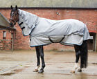 *New Style* Mark Todd Showerproof Combo Fly Rug Grey/Silver 5'6'' - 7'0''
