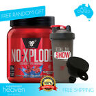 BSN N.O. Xplode New Formula 45 Servings NO Explode Pre Workout Energy Focus