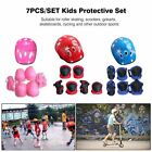 7PCS/SET Kids Protective Gear Set Scooter Skate Roller Cycling Knee Elbow Pads * image