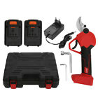 21V Cordless Branch Pruning Shear Steel Blade Rechargeable Branch Cutter New
