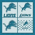 Detroit Lions stencil | Mylar (Plastic Sheet) | Reusable&Durable | $10.24 USD on eBay