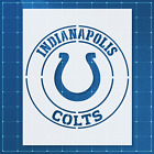 Indianapolis Colts stencil | Mylar (Plastic Sheet) | Reusable&Durable | $8.99 USD on eBay