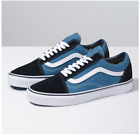 Vans Old Skool Navy Skateboarding Shoes Classic Canvas/Suede Fast shipping