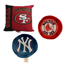 NFL San Francisco 49ers Throw Decorative Pillow with Insert NFL Licensed $18.04 USD on eBay