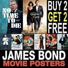 James Bond Posters A1, A2, A3, A4, Available Framed £2.99 GBP on eBay